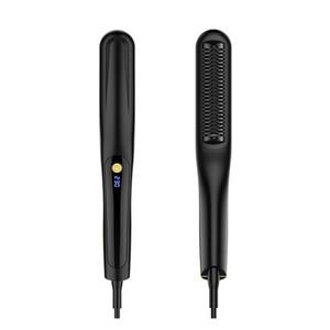 Alisadores de cabelo MB-S01 trending produtos 2019 recém-chegados 2 em 1 mini alisador de cabelo sem escova da barba