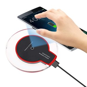 Aktivierte Geräte Transparent Border Wireless Charger Pad