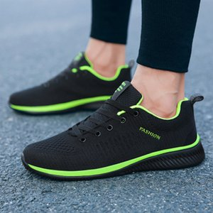 2020 new mens casual sports shoes trend wild running shoes mesh mesh breathable shoes fashion casual