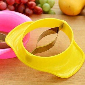 Ferramentas de aço inoxidável Mango Slicer Splitter cortador Fruit Dividir Corer Chopper Kitchen Gadget