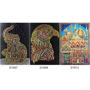 5D DIY Special Shaped Diamond Painting Cross Stitch Embroidery Needlework Rhinestone 5d Drill DIY Crystal Painting