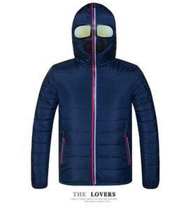 Deisgner Зимней куртки Мужчина Тепловой куртка теплые Мужчины ветровка Fancy с капюшоном с очки молодежью Man Курткой и пиджаками странной одеждой