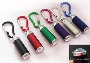 Mini adjustable focus LED flashlight key chain lighting flashlight