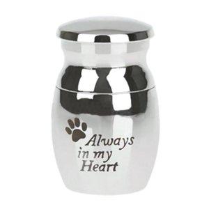 Pet Ларец Идеальный погребальных Ларец для своих близких отвинтил Удобное использование Be Light Lid Can Для Вес Pet S5S2