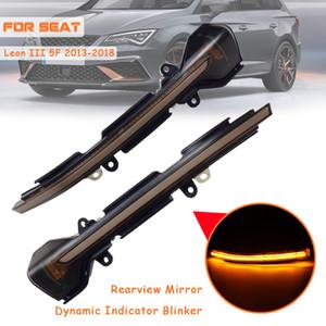 Répéteur lumière LED dynamique CLIGNOTANTS porte-lumière pour SEAT Leon III Mk3 5F ST FR Cupra Ibiza Mk5 V KJ1 Arona KJ7