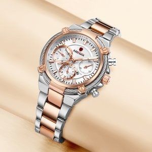 KADEMAN Ladies Relógios de pulso TOP Business Women Watches 3ATM New Moda Feminina Relógio pulseira de aço Relógio Feminno