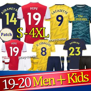 AR camisa de futebol 19 20 Wilshere RAMSEY SUAREZ 2019 2020 Camiseta de Fútbol kit de futebol camisa uniformes maillot de pé home homens + crianças