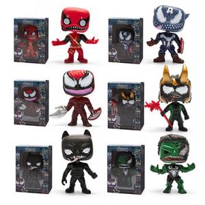 Funko pop Venom Figure Doll toys 2019 New kids Avengers Cartoon Venom figura Juguete Película Figuras