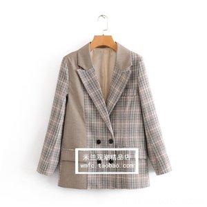 Ones paletó Womens INS Moda Retro Koreanstyle LooseFit online celebridade Suit Tops Clothi de Coats Men Casacos de Womens Entidade Homens