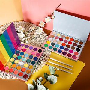 35 color rainbow eye shadow plate, matte golden onion, eye shadow, easy to color, no new logo makeup eye shadow box set.
