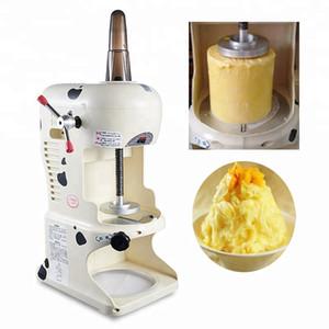 Machine de rasoir de glace commercial de 110V taïwanais Machine à glace rasées Snowflake rasées crème glacée machine électrique rasées Maker Neige