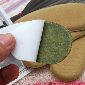 1 Pair After thickening pad keep abreast wear foam insoles half a yard cushion heel stick sticky note on canvas #B2020