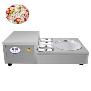 China, precios al por mayor tailandesa del Stir de la Ice Cream Roll Machine personalizada cacerola doble de helado frito de la máquina Venta