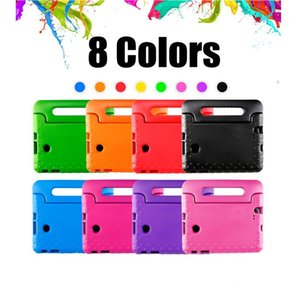 Kids Children Handle Stand EVA Foam Tablet Cases Soft Shockproof For Apple iPad Mini 2 3 4 Sumsang t530