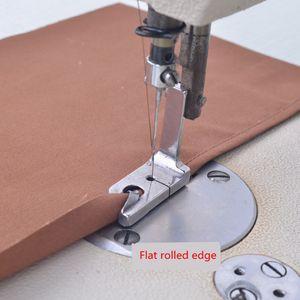 """Pies XUNZHE 1Pcs de coser industrial Máquina eléctrica Presser 1/4 """"1/8"""" 1/16 """"5/64"""" 5/16 """"7/32"""" dobladillo del pie Accesorios Cosa"""