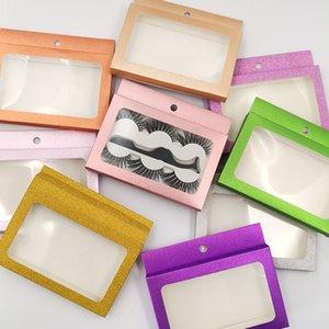 3Pairs 3D Faux Mink Eyelashes with Eyelash Packaging Box Tweezers Fiber False Eyelashes Makeup Handmade Thick Curled Eye lashes