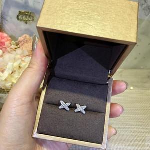 2019 Nuovo orecchino da donna dea essenziale affascinante elegante moda argento sterling