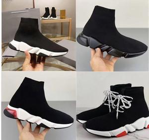 scarpe firmate extra lusso scarpe da uomo Light Speed CLEARSOLE donne ultra-flessibile del solo progettista della scarpa da tennis SPEED SNEAKERS 3D Stretch maglia