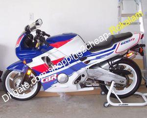 Honda CBR600 CBR600F2 Kalafatlama Motosiklet Parçaları Kırmızı Beyaz Mavi 1991 1992 1993 1994 CBRF2 için CBR 600F2 Kaporta Fairing Kiti F2
