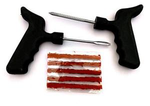 자동차 // 자동차 튜브없는 타이어 펑크 플러그 타이어 수리 도구 키트 튜브없는 타이어 수리 플러그 패치 수정 도구