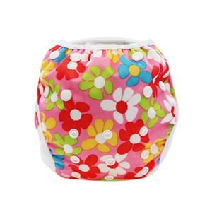 2018 الجديدة لطيف طفلة بوي السباحة حفاضات الكامل طبع قابل للغسل قابلة لإعادة الاستخدام الغلاف بركة بانت 10-40lbs للصيف