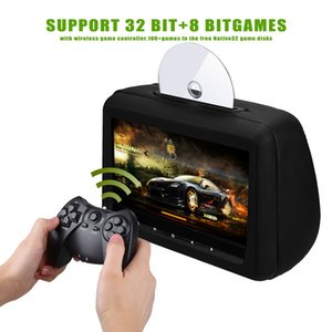XST 2PCS 10.1 inch Car Headrest Monitor DVD Player Car Rear Seat Media DVD Player with FM/IR / USB/SD(MP5) / Wireless Game/HDMI Port