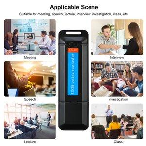 U-Disk Mini grabadora de voz Digital Pen dictáfono grabadora de audio de sonido USB 2.0 Flash Drive de 1-32 GB de la tarjeta Micro SD TF