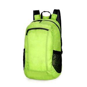 Туризм Регулируемый ремень Прочный водонепроницаемый Climbing Легкий складной Отдых Путешествия Packable Рюкзак Спорт на открытом воздухе