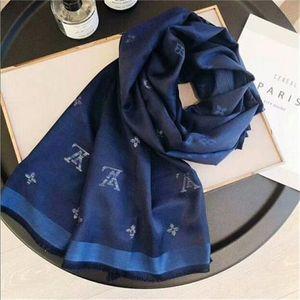 Designer Scarves ashion Man Womens Luxury 4 Seasons Shawl Scarf Brand Letter Scarves Size 180x70cm 6 Color High Quality