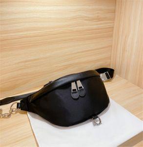 2020 новый дизайнер роскошные поясные сумки высокое качество кожа сумка грудь пакет CFY20042243