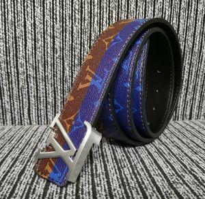 2020 Men's business casual high quality leather belt, printed letters menLuxuryDesignerBrand1GLouis belt 1G&#13