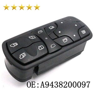 Car styling Electric Power Window Lifter Master Control Switch 9438200097 A 943 820 00 97 For Benz Actros MPII A9438200097 Window Switchi