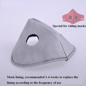 Filter Activated Mask 50pcs Carbon lot for PM2.5 Cycling MTB road Bike Bicycle Face Masks Air Cleaner Dust Pollution Mask Filter