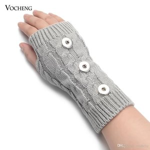 Wholesale 10pcs Lot 7 Colors Winter Snap Glove Arm Warmer fits 18mm GingerSnaps Jewelry NN-696