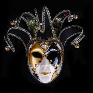 Creativa Patrón partido de las mujeres de la personalidad Máscaras encanto de la manera Máscara de mujer Máscaras de Halloween interpretación femenina Classic 4 colores