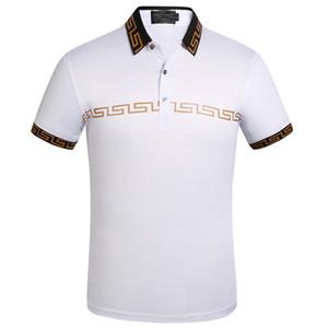 Little Bee Designer-Polohemden 2019 neue Marke Mode Luxus-Designer übergroßes T-Shirt der EU-Größe Druck Kleidung der Männer Marke Polo-Hemd