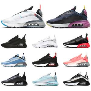 Nike Air Max 2090 Мужчины Женщины Кроссовки Чистая Платина Утка Камуфляж Разведенный Тройной Черный Белый 2090 s Дизайнер Спортивные Кроссовки Размер 36-45