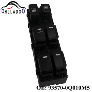 HLLADO High Quality 93570-0Q010M5 New Master Power Window Switch Lifter Control Switch 935700Q010M5 for H yundai E lantra