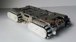 Смарт Робот Tank Шасси Гусеничная Caterpillar Гусеничный платформа автомобиля с 4 Motor Parts Принадлежности Электрический пульт дистанционного управления для Arduino Клима