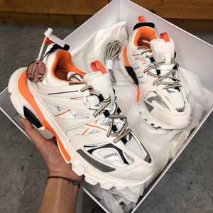 París 17FW del diseñador de moda de lujo del papá zapatos Triple S Hombres Mujeres Zapatos Casual Seguir 3.0 zapatillas Alpargatas Zapatos deportivos vierte hommes