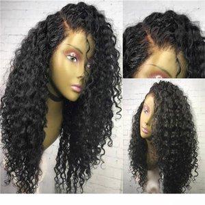C de haute qualité en dentelle pleine perruques de cheveux humains cheveux bouclés Brésilien Vierge dentelle perruques avant avec bébé cheveux Glueless pleines perruques de dentelle