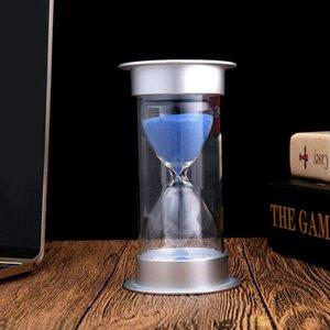 BEAU-45 minutos de reloj de arena, la arena moderna temporizador con Oficina de Mantel para la arena turística Mesa de estante de libro objeto curioso armario o mesa auxiliar Otros relojes