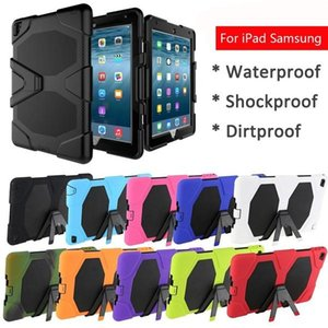 """Eshop IPad Case Extreme Military Heavy Duty Waterproof Dust Shock Proof Kickstand Case For IPad Pro 9.7"""" shell for samsung"""