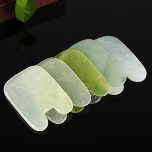 Raspador Rosto Natural Moderna Simplicidade Idéia Criativa Moda Jade Placa Quadrada Manual Carving Plate Venda Direta Da Fábrica 3 5ym p1