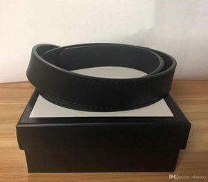 2020 Men women Belt Womens High Quality Genuine Leather Black and White Color Designer Cowhide Belt for Mens Luxury Belt with Original Box