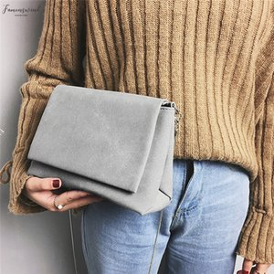 2020 New Womens Handbag Fashion Female Solid Plain Messenger Bag Crossbody Shoulder Bags Womens Bags Clutches