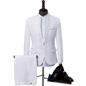 ternos de perfuração quentes para homens meninos blazer baile ternos mariage de forma magro masculino mais recente pant coat designs roupas de coro