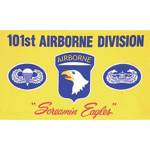 101st Airborne Division Screamin Eagles Bandiera 3x5FT bandiera 100D poliestere bandiera occhielli in ottone su misura, trasporto libero