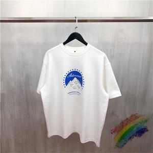 Nueva camiseta de los hombres de algodón mujeres de impresión superior Tees Corea Streetwear Camisetas