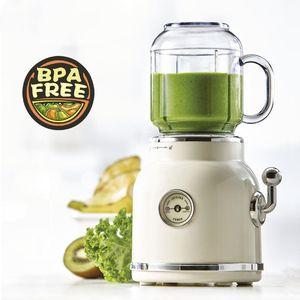 Jus de fruits Blender Retro Juicer Baby Food Milkshake Mixer multifonction Juice Maker machine portable Fruit Blender